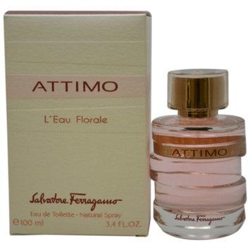 Salvatore Ferragamo Attimo L'Eau Florale Eau de Toilette Spray, 3.4 fl oz