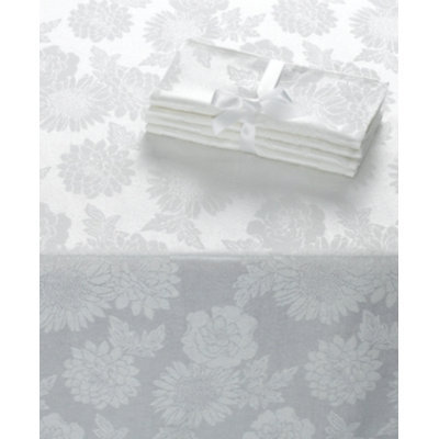 Homewear Table Linens, Dinner Party Medley White Chair Cover