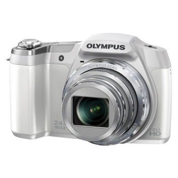 Olympus OLYMPUS SZ-15 16MP Digital Camera with 24x Optical Zoom - Silver