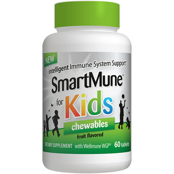 SmartMune for Kids Chewables Fruit Flavored Dietary Supplement Tablets