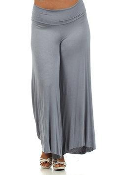 Plus Size Wide Leg Maternity Pant- Online Exclusive