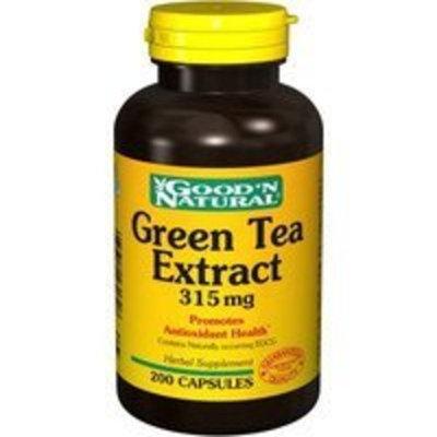 Good'n Natural Good 'N Natural - Green Tea Extract 315 mg. - 200 Capsules