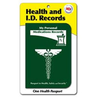 Mdi - 10031 - Medications Passport- Pack of 12