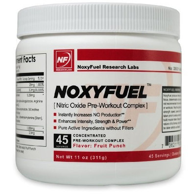Noxyfuel Pre-Workout Muscle Building Recovery Formula Complex