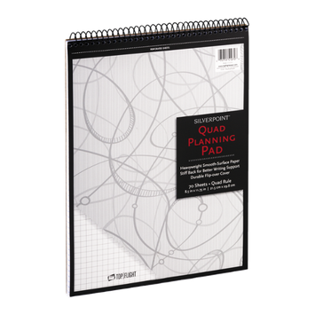 Silverpoint Quad Planning Pad