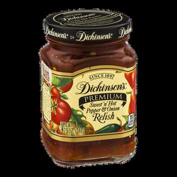 Dickinson's Premium Sweet 'n' Hot Pepper & Onion Relish