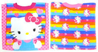 Hamco Neat Solutions Hello Kitty 2-Pack Fiber Reactive Pullover Bib Set - Stripe