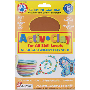 Acme Furniture Activ-Clay Air Dry 1 Pound-Terra Cotta