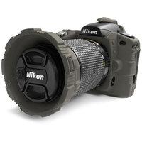 MADE Rubberized Camera Armor Case for Nikon D80 (Smoke)