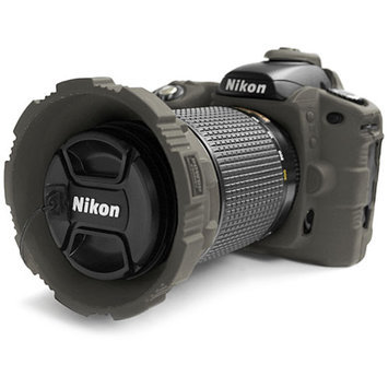 MADE Rubberized Camera Armor Case for Nikon D80 (Smoke)