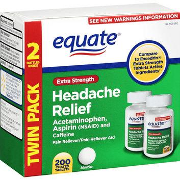 Equate Extra-Strength Headache Relief Tablets