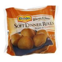 Rhodes Warm-N-Serv Dinner Rolls Soft - 6 CT