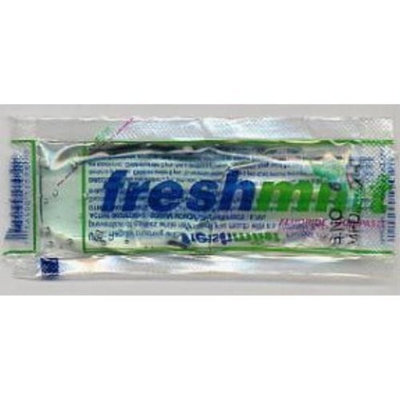 Freshmint Toothpaste (packet) (case of 1000)