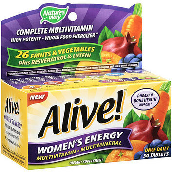 Nature's Way : Alive! Women's Energy Tablets Multivitamin/Multimineral Supplement