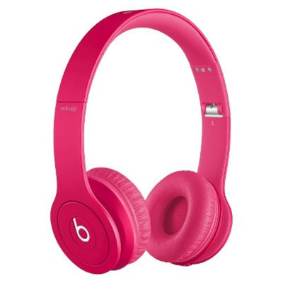 BEATS by Dr. Dre Beats by Dre Solo HD Drenched in Pink