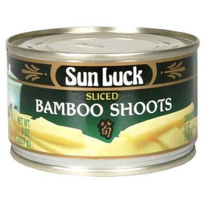 Sun Luck Sliced Bamboo Shoot, 8-Ounce Can (pack of 12)