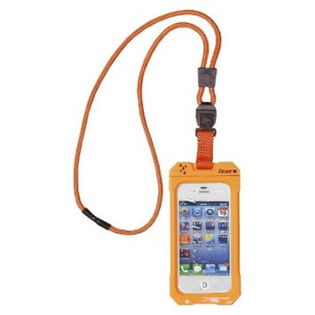 iCat Dri Cat Neck It Waterproof Case and Lanyard for iPhone4/4S -