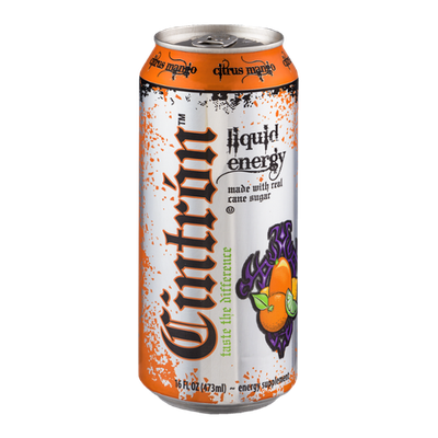Cintron Liquid Energy Citrus Mango