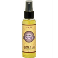 Earthly Body Glow Massage Oil - 3.4 oz Lavender