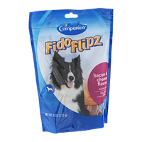 Companion FidoFlipz Dog Treats Bacon & Cheese