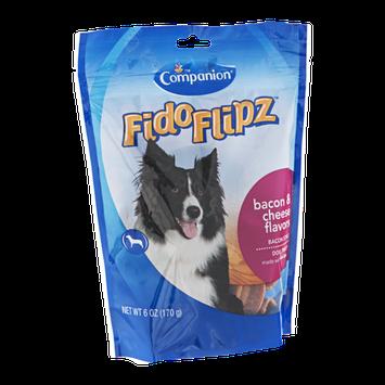Companion FidoFlipz Dog Treats Bacon & Cheese