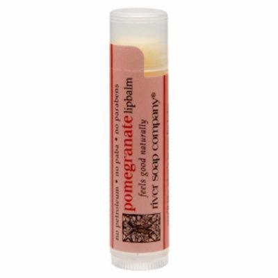 River Soap Company Lip Balm, Pomegranate, .15 oz