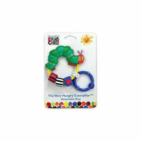 Very Hungry Caterpillar Attachable Bead Rattle by Kids Preferred - 96744