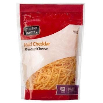 Market Pantry Shredded Mild Cheddar Cheese - 8 oz.