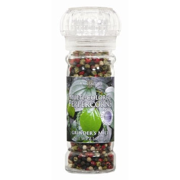 Dean Jacob's Dean Jacobs Grinder Peppercorn, Multicolor, 2.1-Ounce