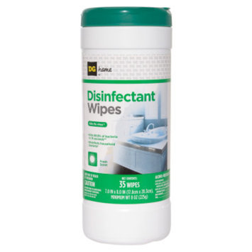 DG Home Disinfectant Wipes - Fresh Scent