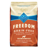 THE BLUE BUFFALO CO. BLUE™ Freedom® Grain-Free Chicken Recipe For Large Breed Senior Dogs