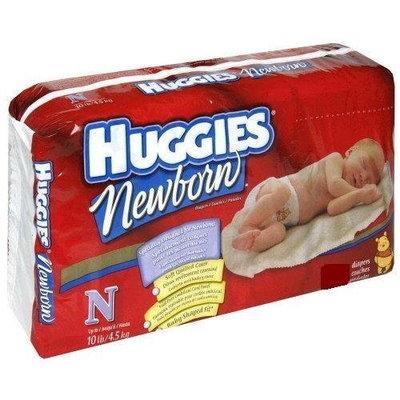 Huggies Gentle Care Newborn Diapers, Size N, 80-count