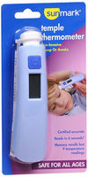 Sunmark Digital Temple Thermometer, 1 Each by Sunmark
