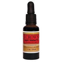 J.CROW'S Lugol's Solution of Iodine 5%