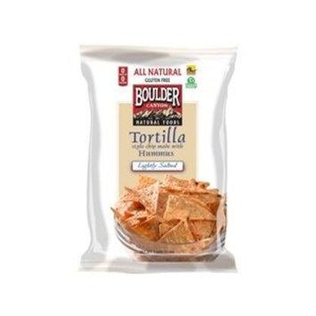 Boulder Canyon Hummus Lightly Salted Tortilla Chips 5 Oz (Pack of 12)