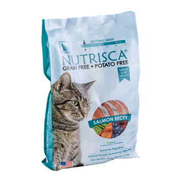 Catswell Nutrisca Premium Food For All Cats Salmon Recipe