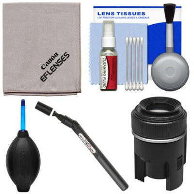 Canon Optical Digital Camera & Lens Cleaning Kit (Brush, Microfiber Cloth, Fluid & Tissue) with Blower + Lenspen Sensor Cleaner