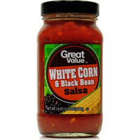 Wal-mart Stores, Inc. Great Value White Corn & Black Bean Salsa, 24 oz