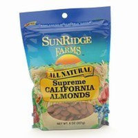SunRidge Farms All Natural Supreme California Almonds, 8 oz