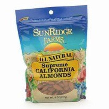 SunRidge Farms All Natural Supreme California Almonds, 8 oz