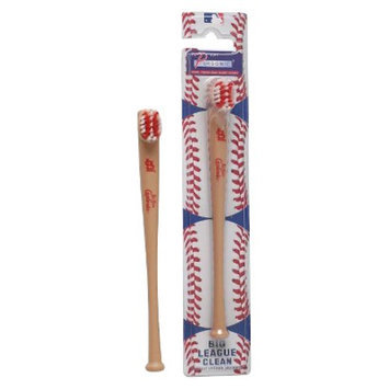 Pursonic Officially Licensed MLB Baseball Bat Team Toothbrushes - St.