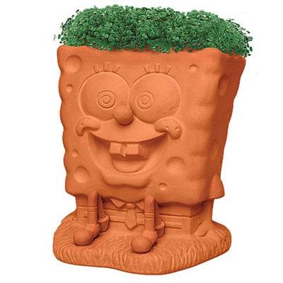 CHIA Sponge Bob Handmade Decorative Planter