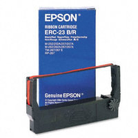 Epson Printer Ribbons ERC-23BR Black/Red Nylon Ribbon for