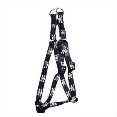Yellow Dog Design SI-SK101S Skulls Step - In Harness - Small