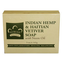 Nubian Heritage Soap Bar, Indian Hemp