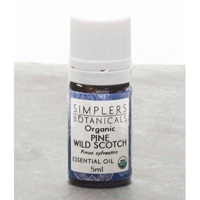 Essential Oil Pine Wild Scotch Organic Simplers Botanicals 5 ml Liquid