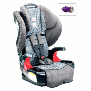 Britax Pioneer 70 Booster Car Seat and FREE Mini Auto USB Adapter, Silvercloud, 1 ea