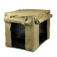 Snoozer Cabana Pet Crate Cover, Medium (21 H x 19 W x 30 L), Antique Gold