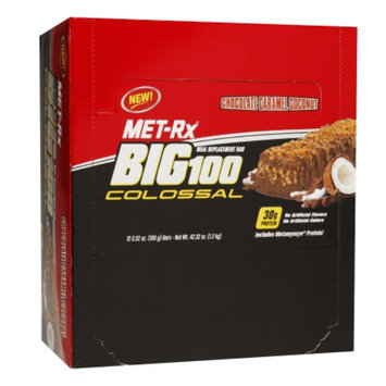 Met-Rx Big 100 Colossal Protein Bar Chocolate Caramel Coconut
