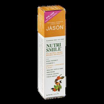 Nutrismile All Natural Enamel Defense Toothpaste Orange, Cinnamon & Mint